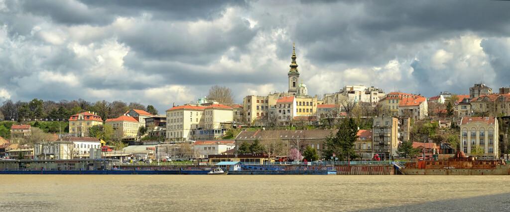 Serbia, su capital Belgrado