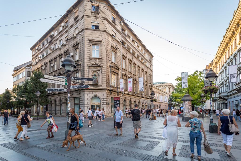 Belgrado, capital de Serbia