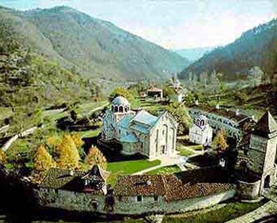 Monasterio Studenica patrimonio de la humanidad