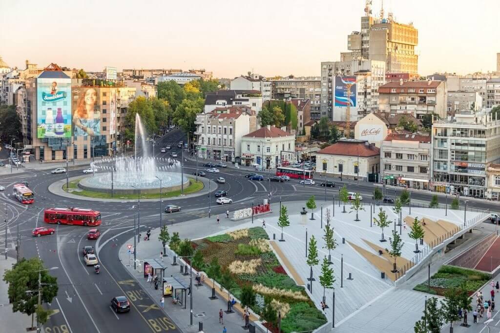 Belgrado Plaza de la república